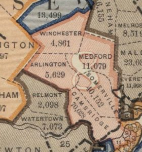 Belmont Massachusetts Population Map